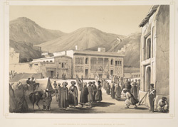 The Durbar-Khaneh of Shah Shoojah-ool-Moolk, at Caubul